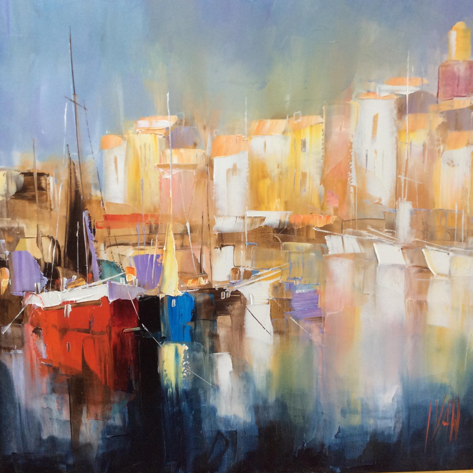 Artiste Peintre St Tropez yvan – galerie art 83